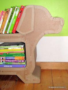 C 39 est beau et en carton on pinterest cardboard art - Meuble en carton patron gratuit ...
