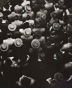 Staten Island Ferry Commuters, 1944 •  By Gordon Parks