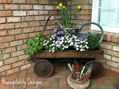 plant porch decor
