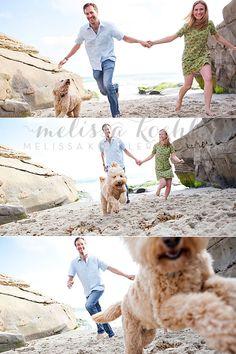Couple on the beach, photography