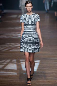 Fashion spring summer 2014 Yigal Azrouël, New York Fashion Week #NYFW #SS14