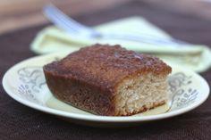 Barefeet In The Kitchen: Cinnamon Toast Cake - Gluten Free or Not