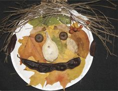 Use sticks, leafs, acorns and other natural materials to make different kinds of art. *DOES NOT NEED TO BE A FACE- Keep it open ended*
