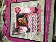 Scrapbook page MH