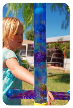 {Triple T Mum} Water bead wands by up-cycling bubble wands