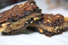 Peanut Butter Brownies!!!