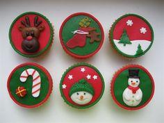 kerst cupcakes - christmas cupcakes