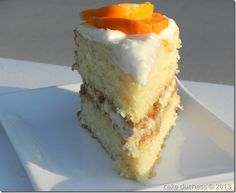 Orange Crunch Cake @L Mahaffey