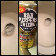 Remove scratches in toilet from the ill advised Snake with Bar Keepers Friend. p.s. It's better to use a Toilet Auger rather than a Snake to remove clogs.