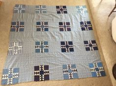 Antique quilt top (1800's-1900's), eBay, meizaz