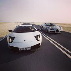 Lamborghini vs Bugatti