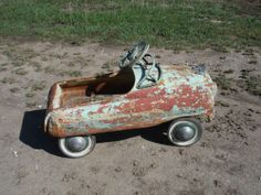 1950's Murray Happy Time Comet Pedal Car - Needs Restored - All Original - Nice! #Murray
