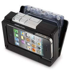 Just for fun (for us 'oldsters'): The Cassette To iPod Converter; converts audio tape cassettes into MP3 files and stores them directly onto an iPhone or iPod touch; $80
