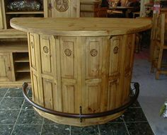 Future mancave bar what to do with old cable spools