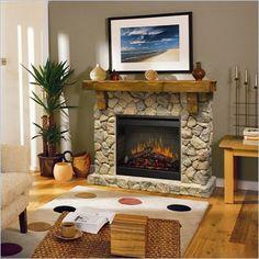decor, dimplex, fab fireplac, hous idea, log cabins