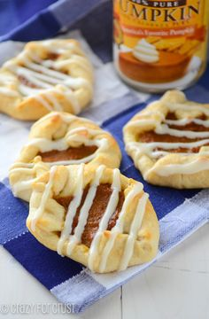 Easy Pumpkin Danish