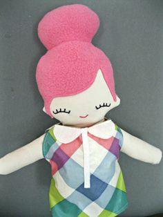 PDF. Barn owl Plush Doll Pattern. Softie Pattern, Soft felt Toy