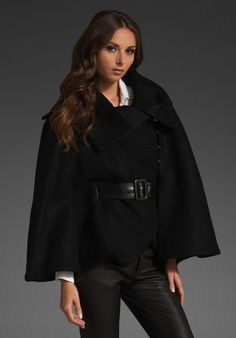 Love this cape for fall