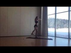 Gotowy,skomponowany trening 5x6 min (Ewa Chodakowska)