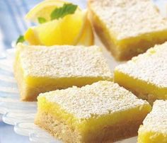 Convenient refrigerated sugar cookies make quick work of homemade lemon bars. Lime or orange anyone