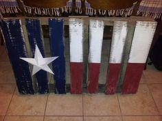 pallet texas flag, crafti, texas pallet, rustic texas, texa pallet