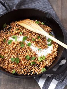 Coconut-Cilantro Toasted Israeli Couscous Recipe