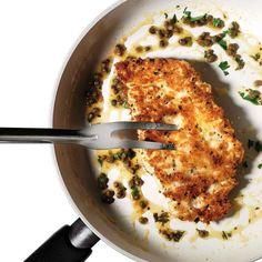 """Crispy Parmesan Chicken - not """"Chicken Parmesan""""... """"Parmesan Chicken"""" :)"""