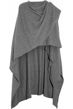 Oversized cashmere wrap