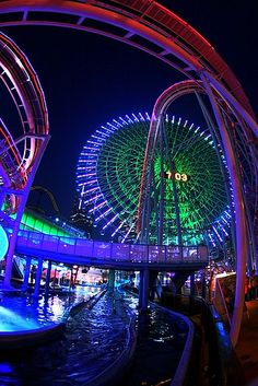 Night Amusement Park