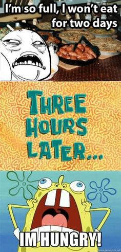 "Reread this but say ""three hours later"" in that voice from spongebob's tv show hahahaha so funny :)"