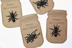 Easy DIY Halloween Treats and Party Favor ideas