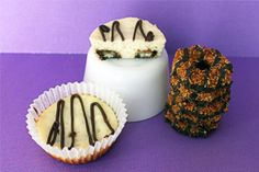 Mini Samoa Cheesecakes