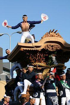 岸和田だんじり祭り Kishiwada Danjiri Festival, Osaka, Japan