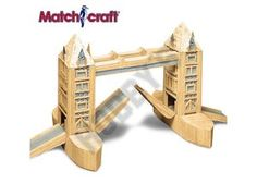 This Matchcraft Tower Bridge includes everything needed to make this matchstick model kit.  Included are all the pre-cut card formers along with the glue, matchticks and full instructions. These instructions will guide you through each stage of the construction until you finally achieve the finished product.  We would highly recommend this Matchcraft Tower Bridge.