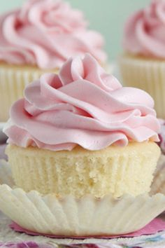 Hot Milk Cupcakes