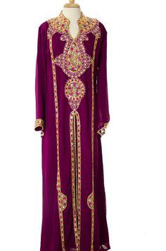 Magenta Khaleeji Dress
