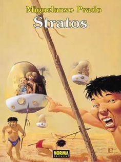 """""""Stratos"""" (Colección Miguelanxo Prado). Editado por Norma."""