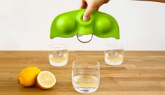 Frozen Peas - Giant Pea Pod Ice Sphere Tray