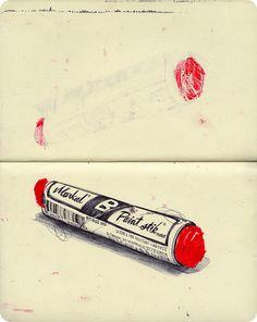 #Art #journal #sketchbook #moleskin