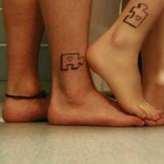 Cute couples tattoo |Pinned from PinTo for iPad|