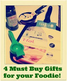 Just in Time for Thanksgivukkah: 4 Must Buy Gifts for your Foodie! Win them all here!