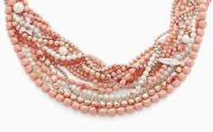 #pink #coral Swarovski crystal pearls with #rose #peach crystals and more! https://shop.rings-things.com/cart/pc/showsearchresults.asp?idcategory=5009