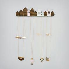 Porte bijoux Maison / Jewel hanger