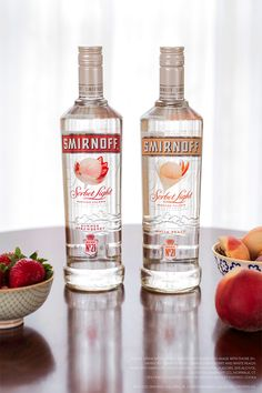 Lighten up your summer BBQ with a Sorbet Light White Peach & Sorbet Light Summer Strawberry. Both are easy to mix with diet lemonade, diet cranberry juice OR soda water!
