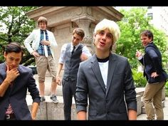 One Direction - One Thing PARODY!  Key of Awesome #61. It's kinda funny;)