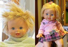 How to detangle doll hair!!  Definitely gonna try this one!