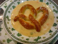 Nat'ly's Grilled Brats with Beer Cheese Soup