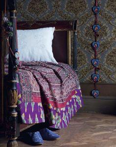 bed frames, quilt, pattern, purple bohemian bedroom, bohemian bedrooms, purple bedrooms