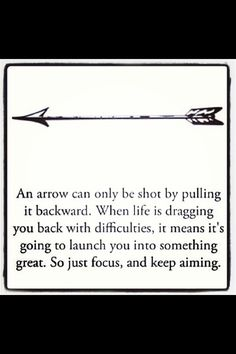 aim, strength, life lessons, hunting arrows, inspir, thought, word, release quotes, thing