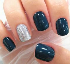 nail polish, color, nail arts, glitter nails, sparkle nails, winter nails, the navy, new years, blue nails
